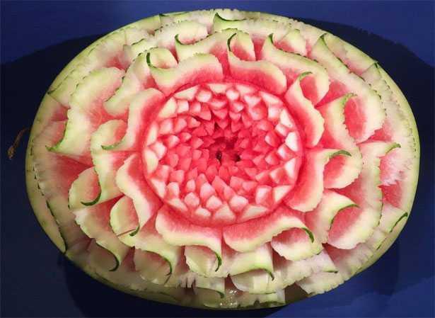 frutta intagliata anguria