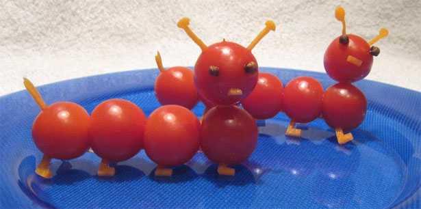 pomodori intagliati
