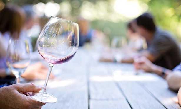 come degustare vino