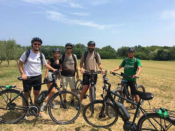 gruppo ebike tour