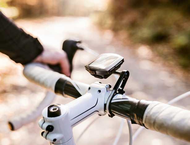 Modello di ciclocomputer per bici