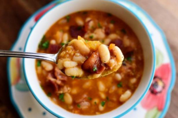 zuppa di fagioli ricetta