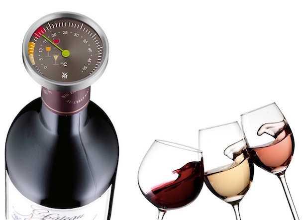 Temperatura ideale e termometro per vino