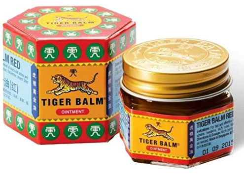 balsamo tigre rosso originale