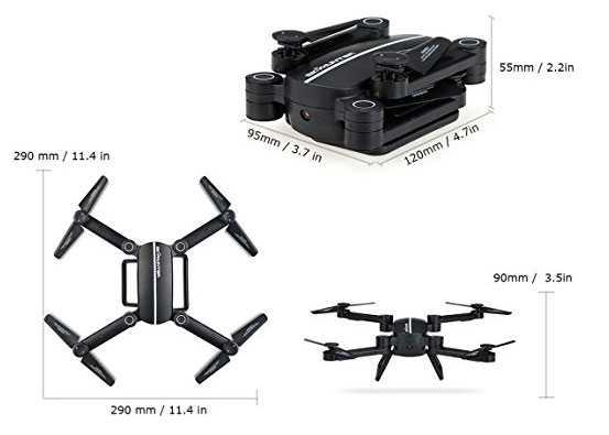 drone economico dimensioni