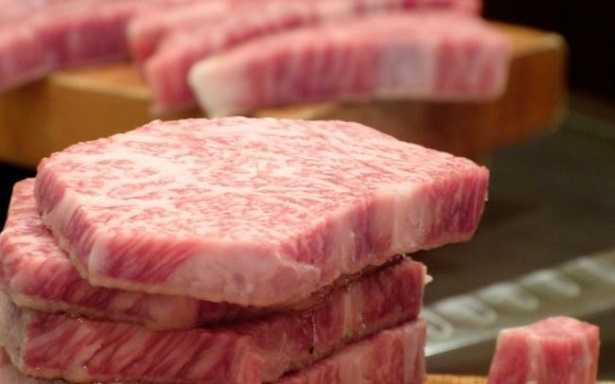 Mucca giapponese di Kobe