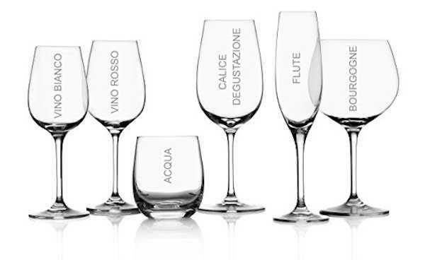 tipologie bicchieri vino