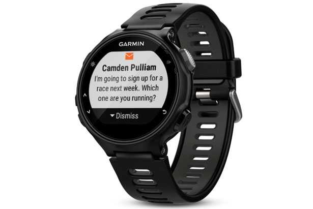 Garmin 735xt notifica