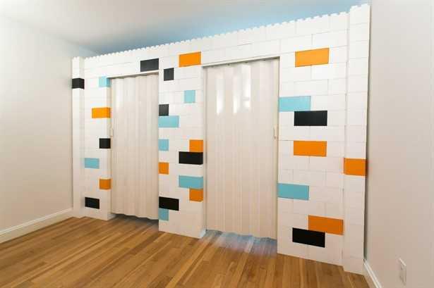 pareti modulari lego