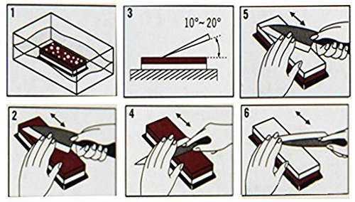 come affilare un coltello