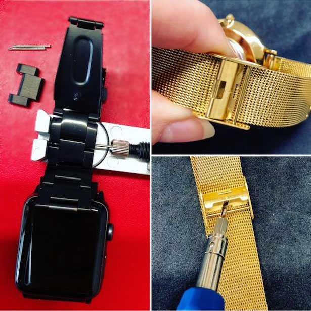 come regolare cinturino orologio maglia milanese