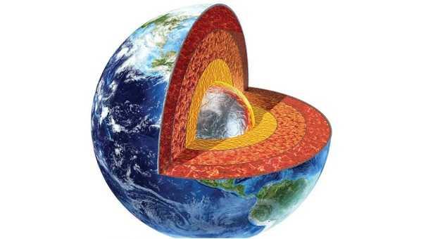 Crosta terrestre: sigla e strati