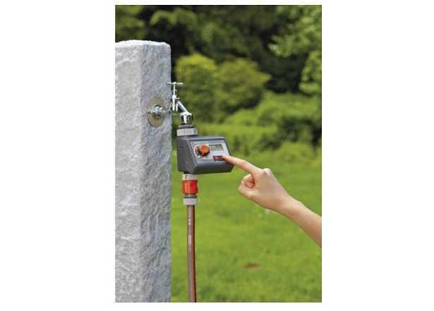 Centralina di irrigazione a batteria