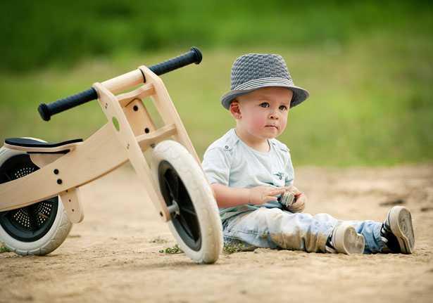 bici senza pedali in legno per bimbi di 18 mesi