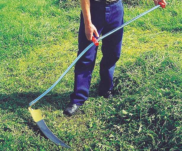 Come tagliare erba alta