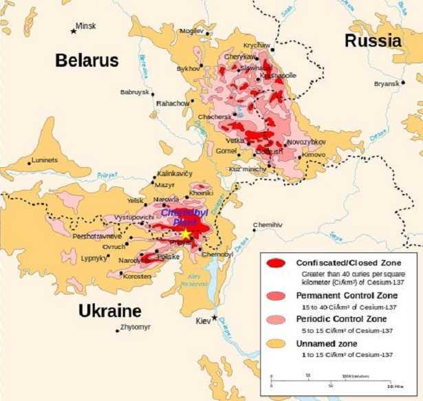 Chernobyl: mappa