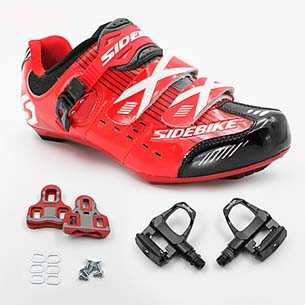 pedali e tacchette bici da corsa