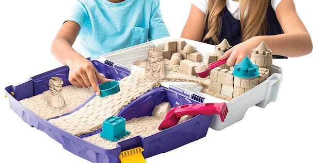 come fare un castello di sabbia per bambini