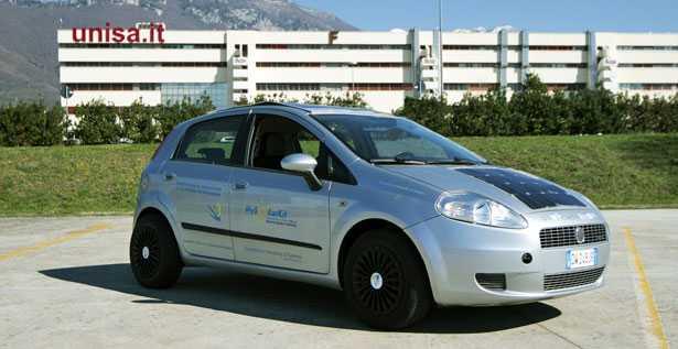 hysolarkit veicolo ibrido solare