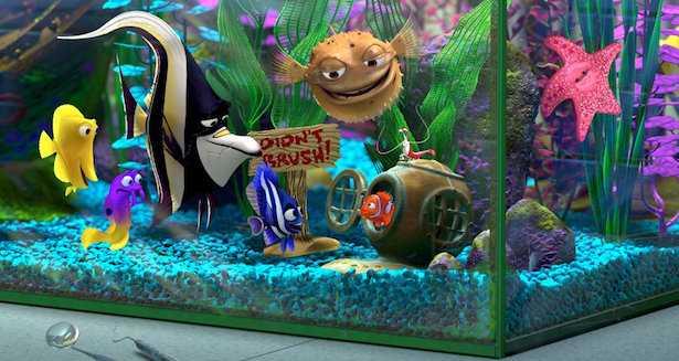 Alla ricerca di nemo: i 9 pesci del film