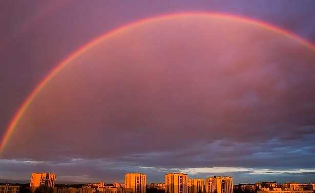Colori dell'arcobaleno: sette?