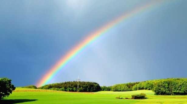 Colori dell 39 arcobaleno in ordine quali sono idee green - Arcobaleno a colori e stampa ...