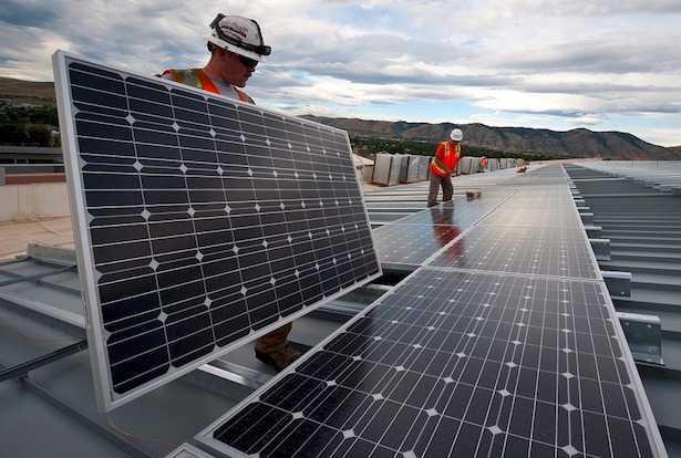 Fissaggio pannelli solari sul tetto