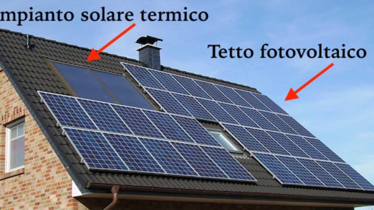 Vendere Energia Elettrica Da Fotovoltaico impianto fotovoltaico su tetto - idee green