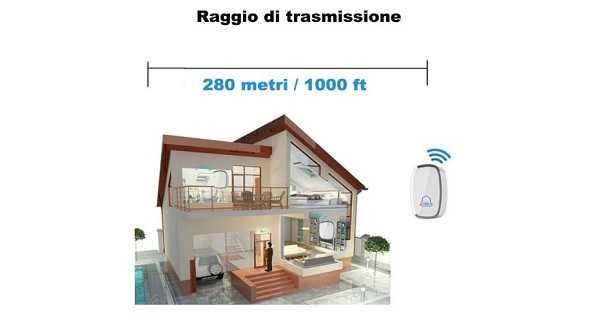 Citofono senza fili wireless