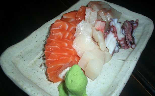 differenza tra sashimi e sushi