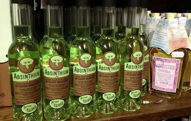 Assenzio: liquore e gradi