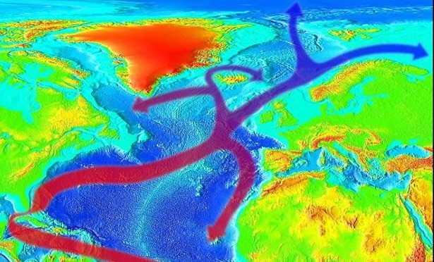 Corrente del Golfo rallentamento