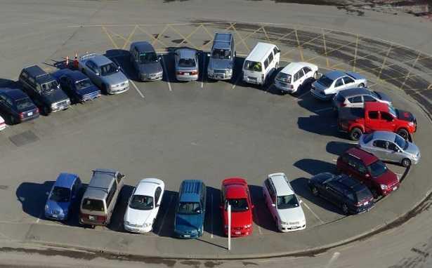 Sensori di parcheggio anteriori o posteriori