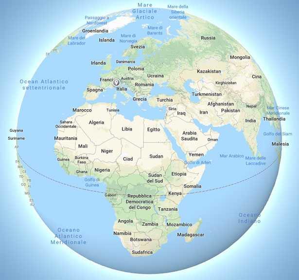 mappamondo online
