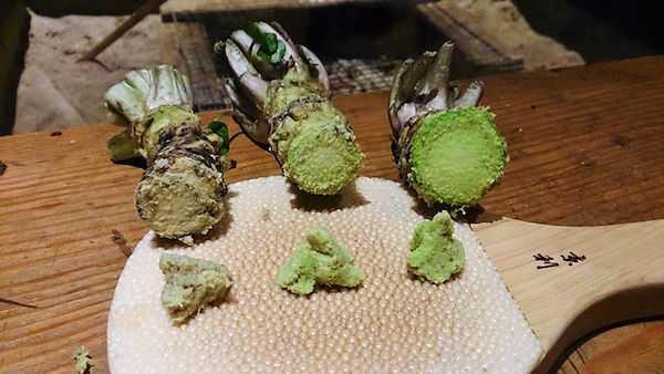 wasabi ingredienti