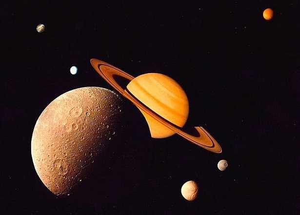 Pianeta Saturno: temperatura