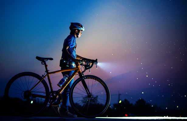 Luci e fari anteriori per bici 600 lumen per ciclismo in notturna