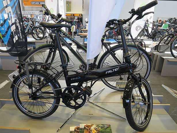 bici pieghevole elettrica o e-folding bike