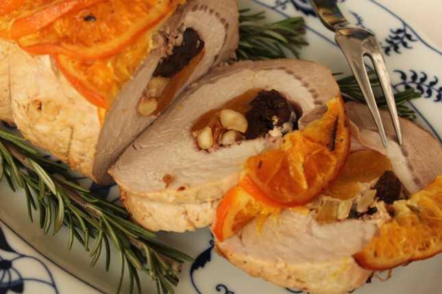 arista di maiale all arancia