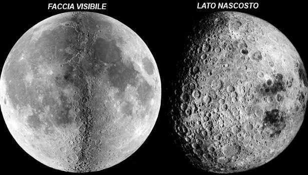 lato nascosto della luna