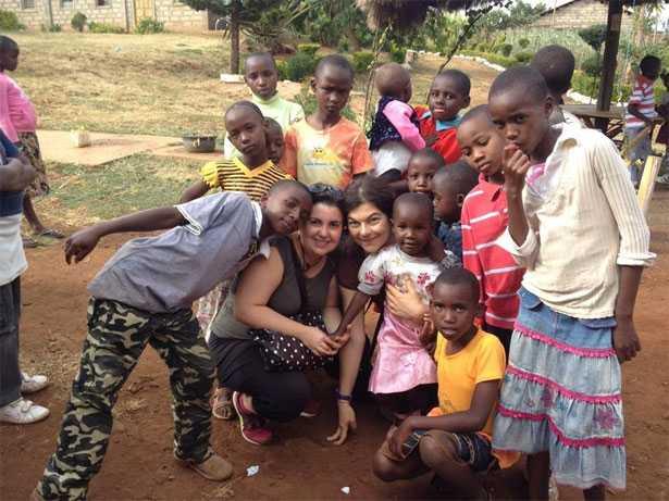Stefania Ferrante in Kenya