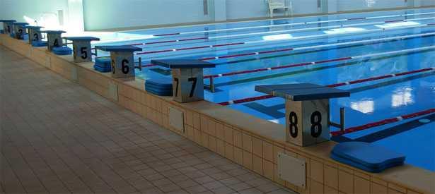 blocchi di partenza nel nuoto