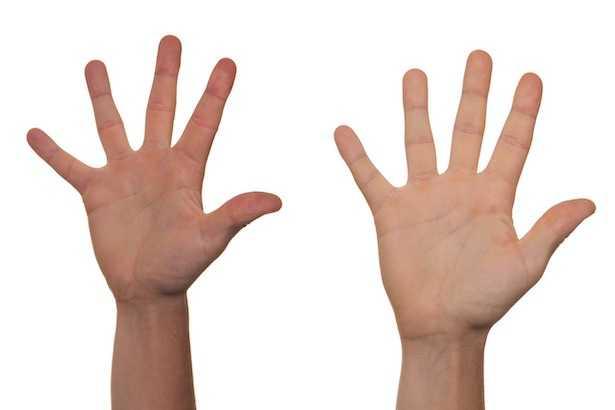 prurito alle mani palmo dorso