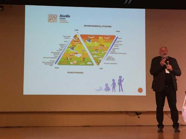 Il prof. Riccardo Valentini presenta il progetto Su-Eatable LIFE al Festival della Salute Globale di Padova