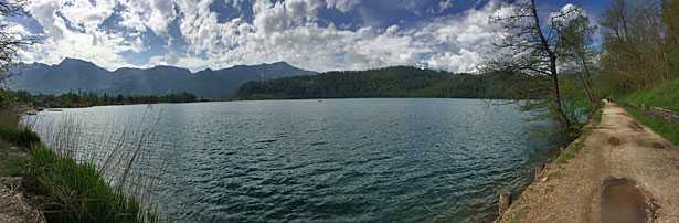 Lago di Levico - panoramica