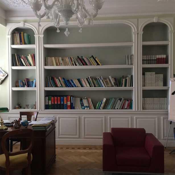 libreria cartongesso