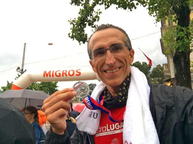 StraLugano 2019: medaglia all'arrivo