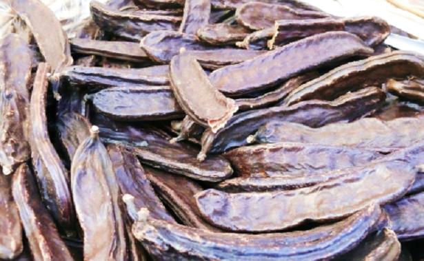 Carrube al posto del cacao
