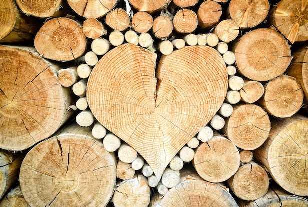 Come accatastare la legna