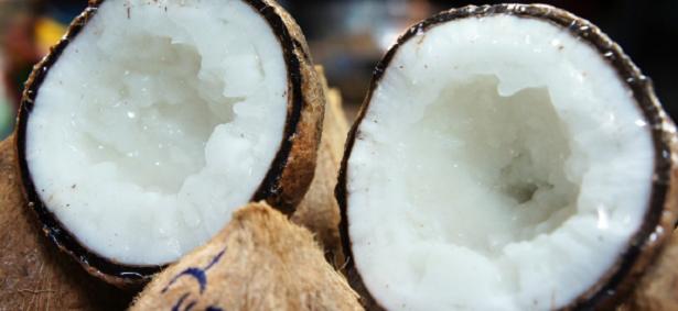 Olio di cocco in cucina